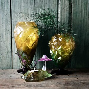 Into the Woods Mushroom Votive